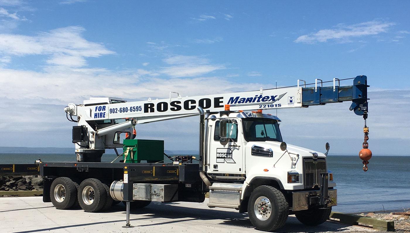 Roscoe Crane for Rent